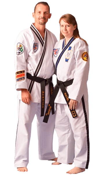 Sr Master Jason Dendy and Rachel Dendy Inspired ATA Martial Arts