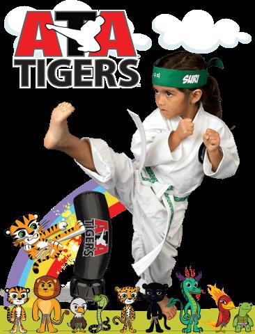 ATA Martial Arts Inspired ATA Martial Arts - ATA Tigers